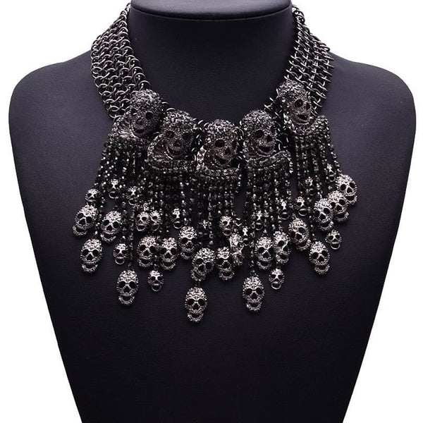 Choker Drag Doom Necklace