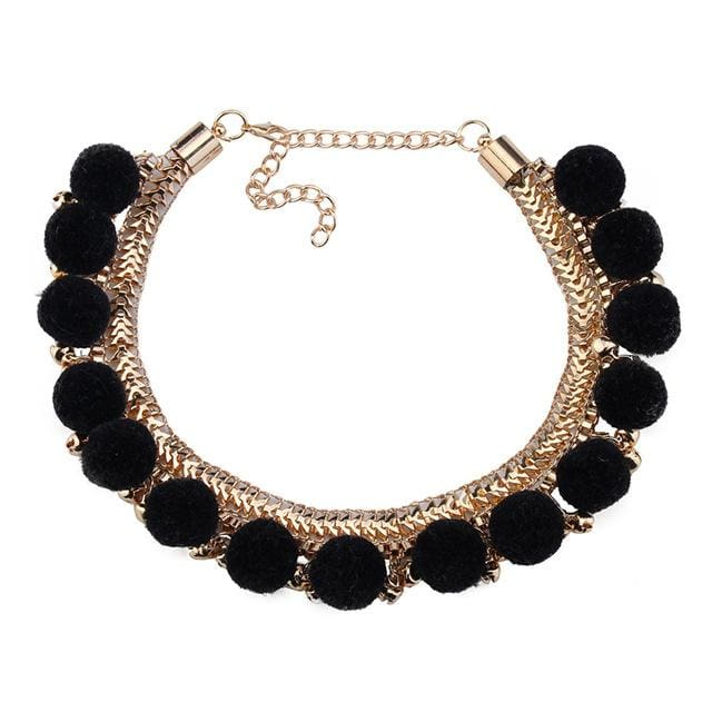 Choker Drag Kazan (3 Colors) Black Choker