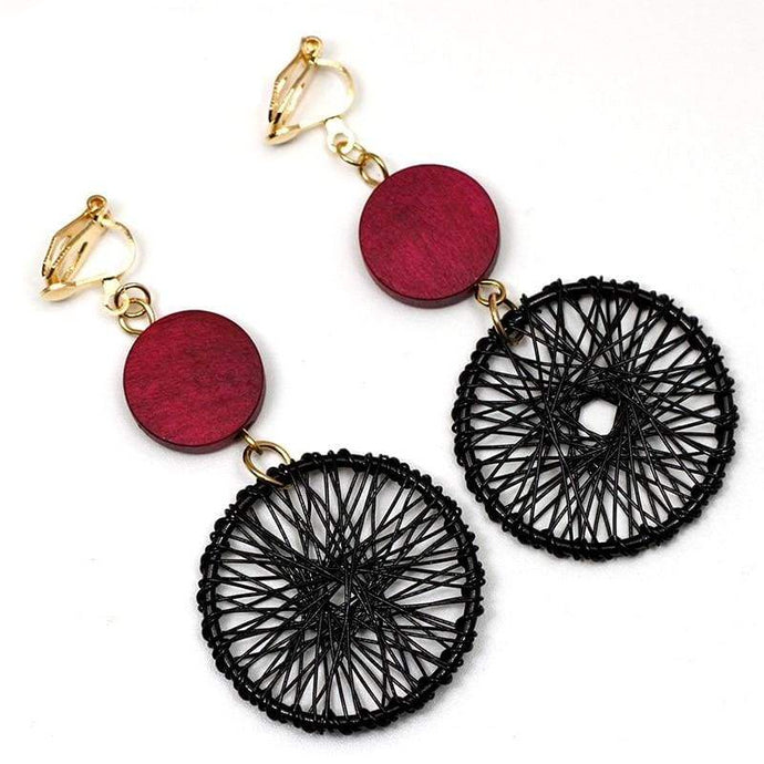 Clip Earrings Drag Acchiappasogni Earrings