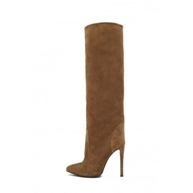 Drag Boots Berry (3 Colors) Brown / 4 Boots