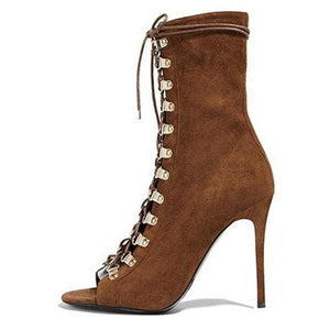 Drag Boots Brian (3 Colors) Brown / 11 Boots
