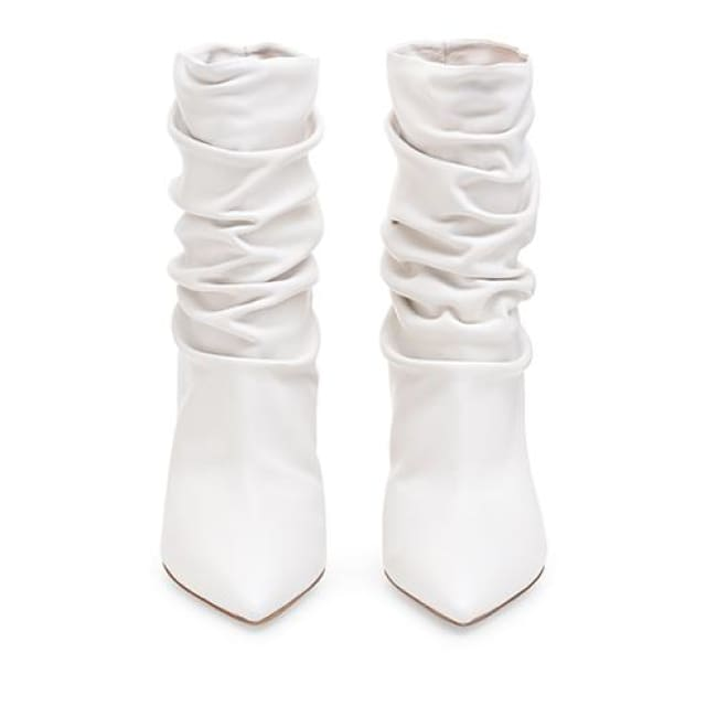 Drag Boots Raven (Black or White) White / 4 Boots