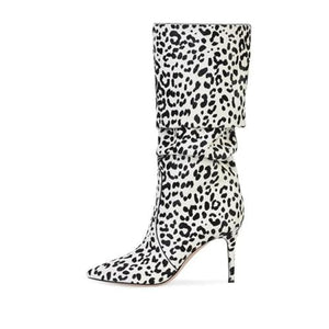 Drag Boots Safari (3 Colors) White / 4 Boots