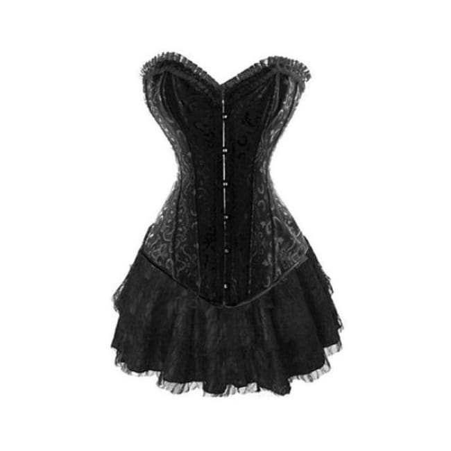 Drag Corset Dress Femme L Corset Dress