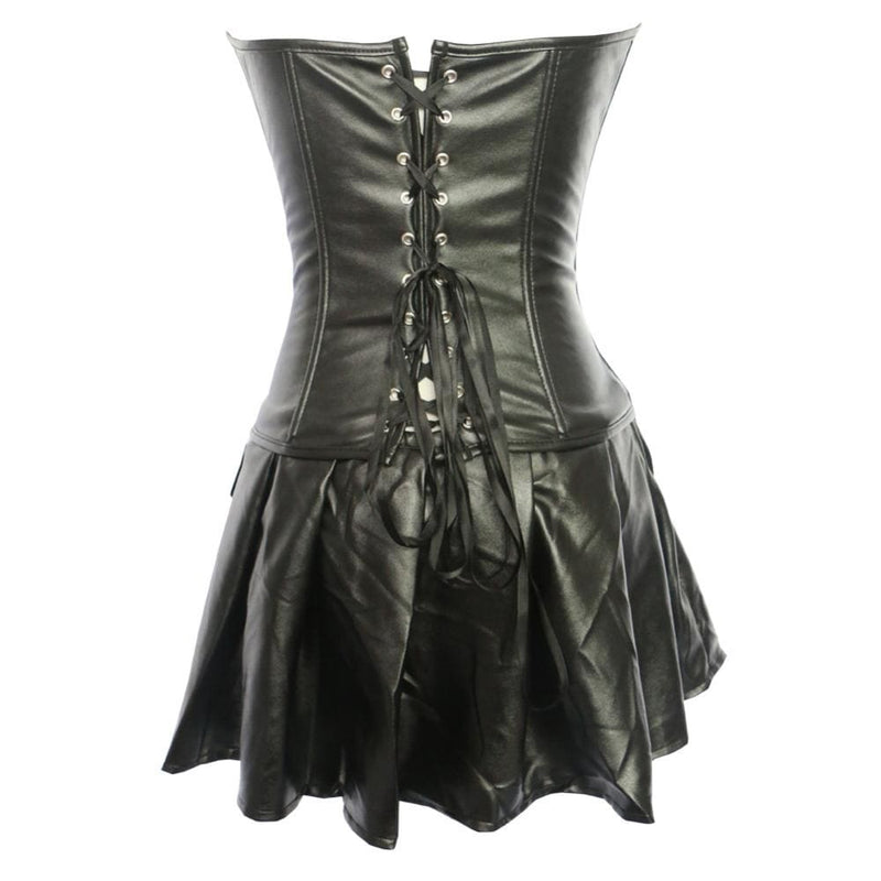 Drag Corset Dress Morticia Corset Dress