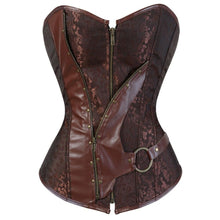 Load image into Gallery viewer, Drag Corset Terracota 4XL Corset