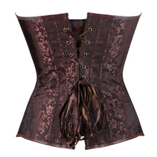 Load image into Gallery viewer, Drag Corset Terracota Corset