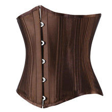 Load image into Gallery viewer, Drag Corset Vulcana (Brown or Black) Corset