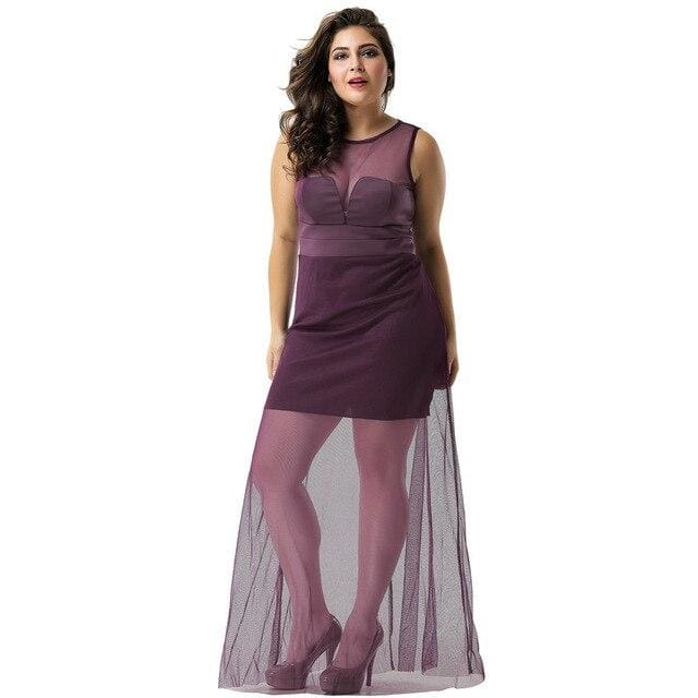 Drag Dress Belinda Purple / M Dress