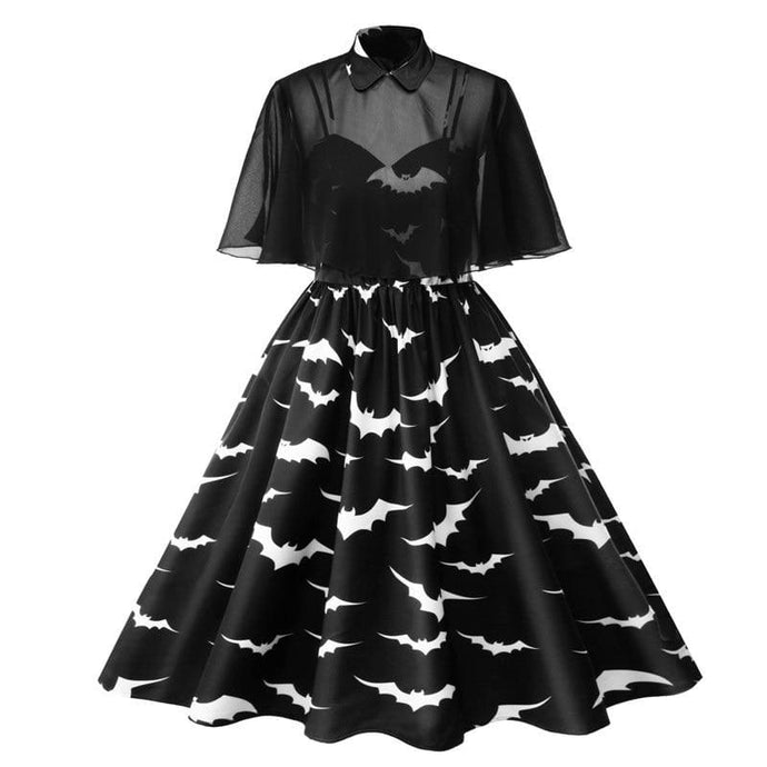Drag Dress Halloween Black / L Dress