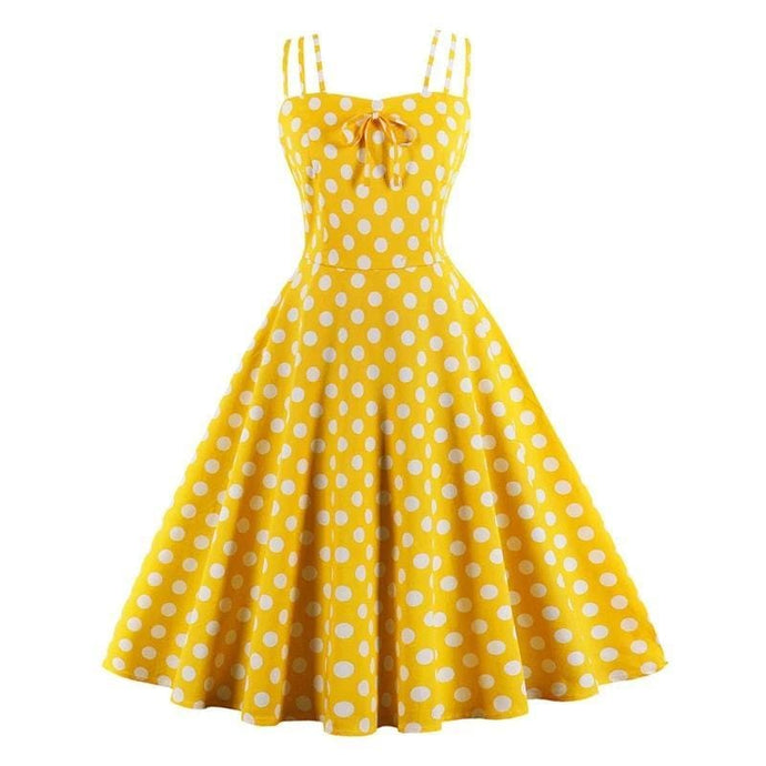 Drag Dress Sunflower (2 Colors) Yellow / S Dress