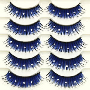 Drag Eyelashes Night Sky (5 Pairs) Eyelashes