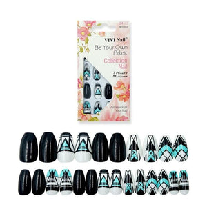 Drag Nails Rubi (24 Pieces) Nail Tips