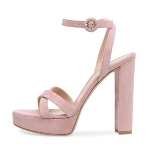 Drag Sandals Leanna (3 Colors) Pink / 11 Sandals