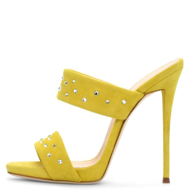 Drag Sandals Starlette (3 Colors) Yellow / 11 Sandals