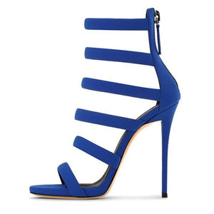 Drag Sandals Supremme (Blue or Black) Blue / 4 Sandals