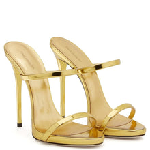 Load image into Gallery viewer, Drag Sandals Tammie (Champagne and Golden) Sandals