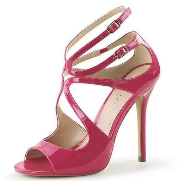 Drag Shoes Alaska (4 Colors) Rose Red / 4 Pumps