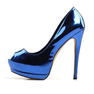 Drag Shoes DiDa Blue / 4 Pumps