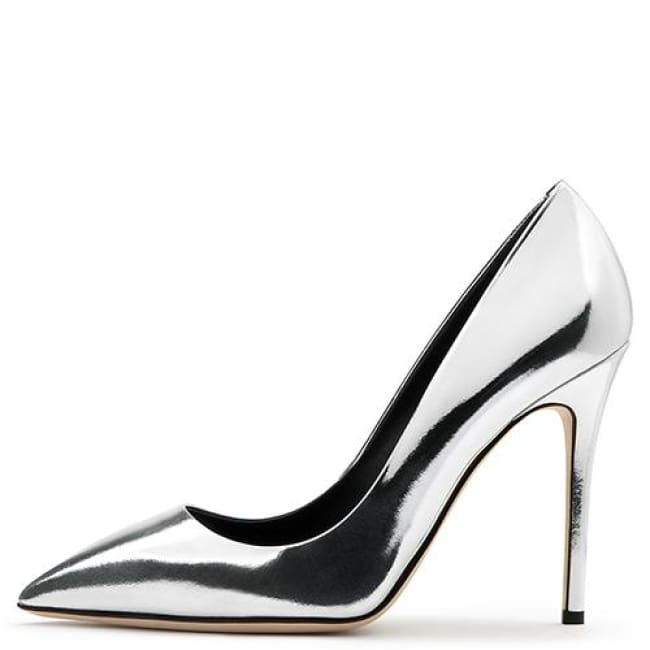 Drag Shoes Honey (4 Colors) Silvery / 11 Pumps