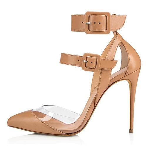 Drag Shoes Malene (Nude or Black) Nude / 4 Pumps