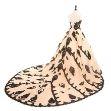 Load image into Gallery viewer, Dress Drag Empress (Champagne or Ivory) Dress