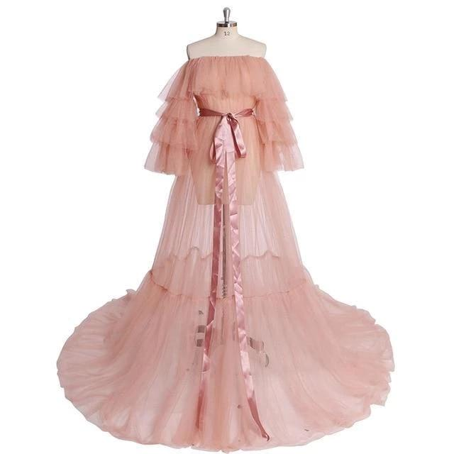Dress Drag Melissa (Multiple colors) Pink / 2 Dress