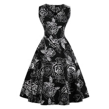 Load image into Gallery viewer, Dress Drag Poppy (Multiple Patterns) Black / S Dress