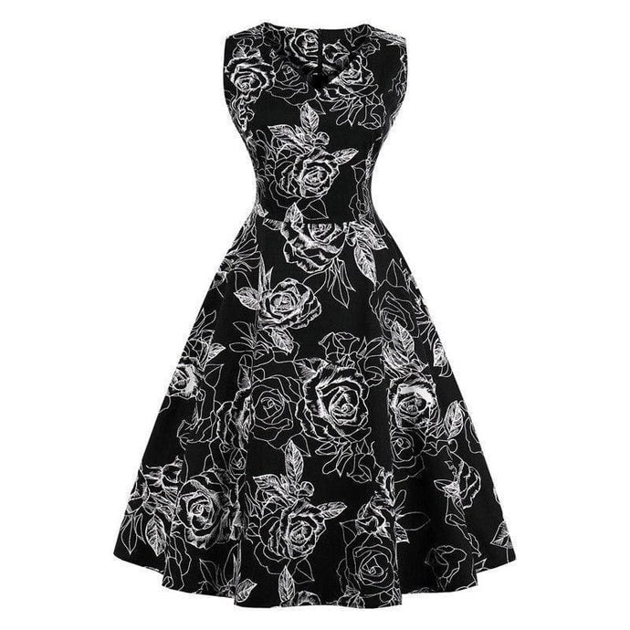 Dress Drag Poppy (Multiple Patterns) Black / S Dress