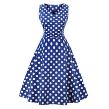 Load image into Gallery viewer, Dress Drag Poppy (Multiple Patterns) Blue / S Dress