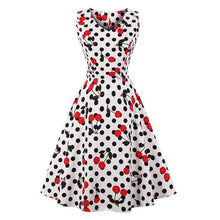 Load image into Gallery viewer, Dress Drag Poppy (Multiple Patterns) Dot And Cherry / S Dress