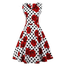 Load image into Gallery viewer, Dress Drag Poppy (Multiple Patterns) Dot And Rose / S Dress