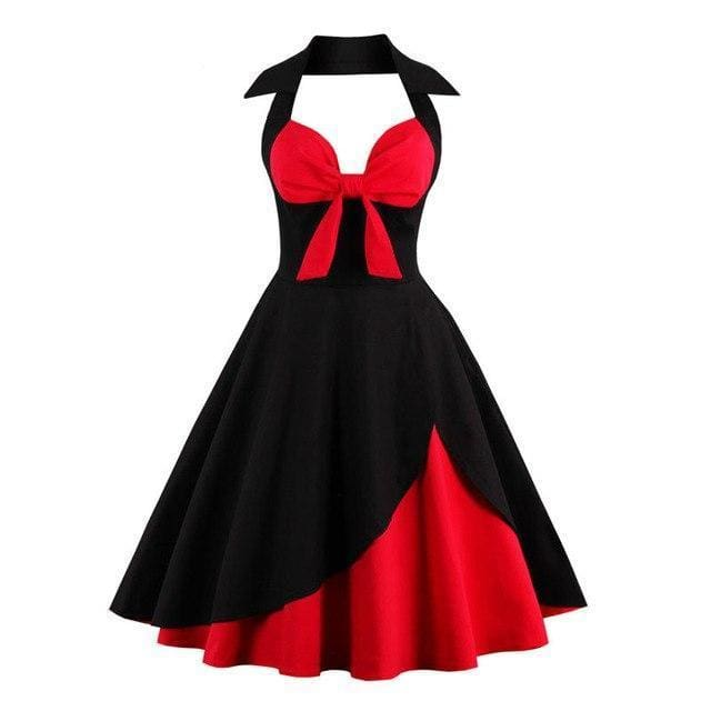 Dress Drag Rizzo Black and red / S Dress