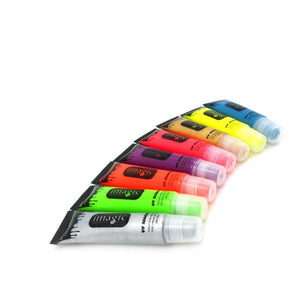 Fluorescent Neon UV Bright Paint (8 Colors) Body Paint
