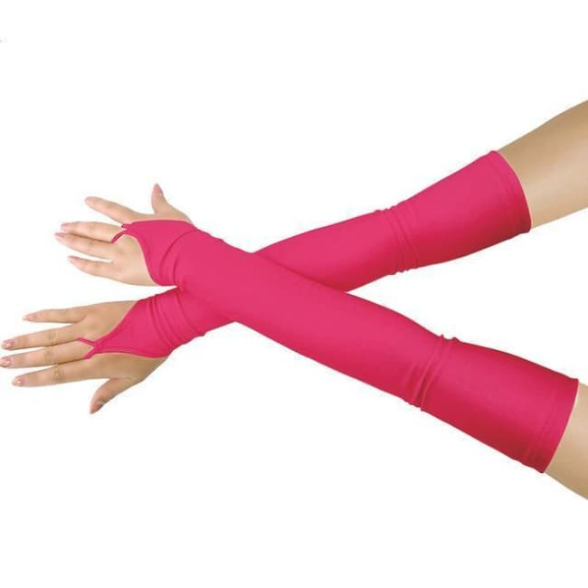 Gloves Drag Britney (19 Colors) Fuchsia / One Size Gloves