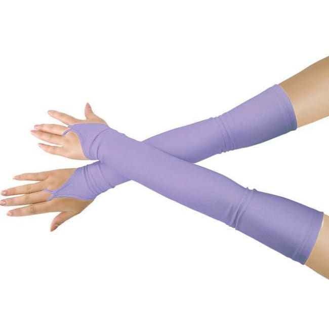 Gloves Drag Britney (19 Colors) Light Purple / One Size Gloves