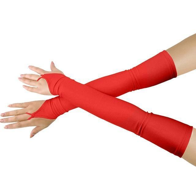 Gloves Drag Britney (19 Colors) Red / One Size Gloves