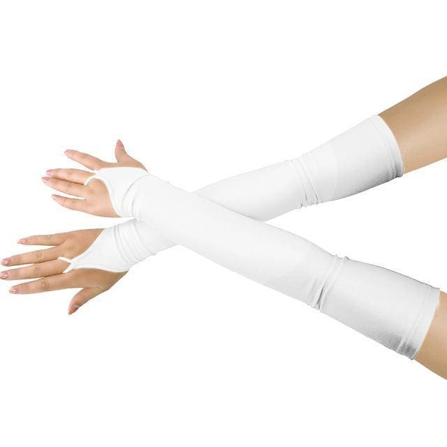 Gloves Drag Britney (19 Colors) White / One Size Gloves