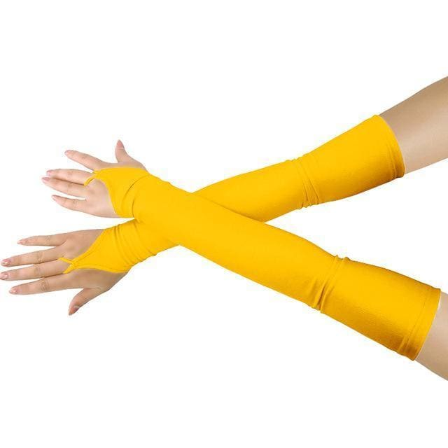 Gloves Drag Britney (19 Colors) Yellow / One Size Gloves