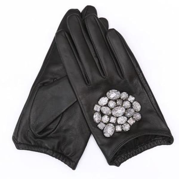 Gloves Drag Katya (2 Variants) Black White / L Gloves