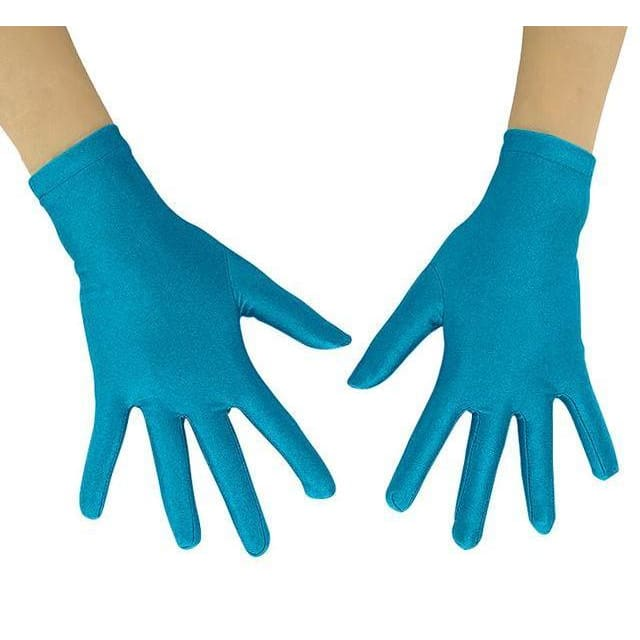 Gloves Drag Mimic (19 Colors) Blue / 10 Inch Gloves