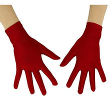 Load image into Gallery viewer, Gloves Drag Mimic (19 Colors) Burgundy / 10 Inch Gloves