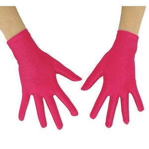 Gloves Drag Mimic (19 Colors) Fuchsia / 10 Inch Gloves