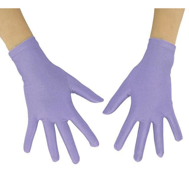 Gloves Drag Mimic (19 Colors) Light Purple / 10 Inch Gloves