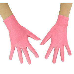 Gloves Drag Mimic (19 Colors) Pink / 10 Inch Gloves