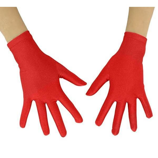 Gloves Drag Mimic (19 Colors) Red / 10 Inch Gloves