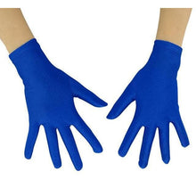 Load image into Gallery viewer, Gloves Drag Mimic (19 Colors) Royal Blue / 10 Inch Gloves