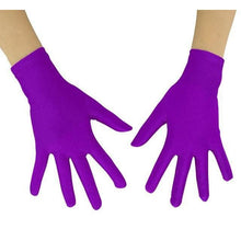 Load image into Gallery viewer, Gloves Drag Mimic (19 Colors) Violet / 10 Inch Gloves