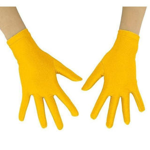 Gloves Drag Mimic (19 Colors) Yellow / 10 Inch Gloves