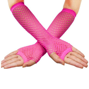 Gloves Drag Trixie Fuchsia / 1 Gloves